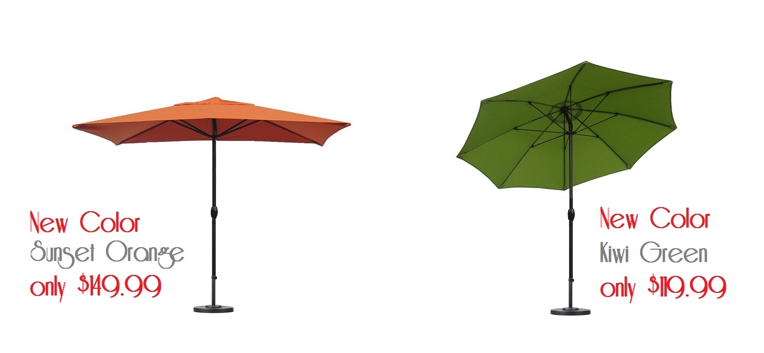 New Color Umbrellas